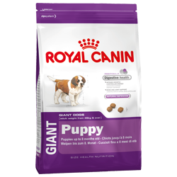 Royal canin giant puppy 15kg.