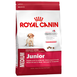 Royal canin medium junior 15kg.