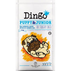 Dingo puppy & junior 15kg.